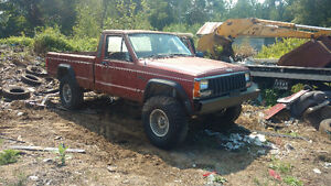 Parting Out Jeep Comanche/Cherokee