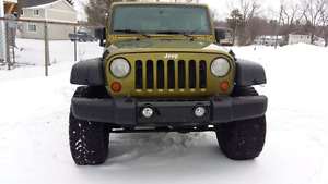 2007 Jeep Wrangler Unlimited Sahara Lifted