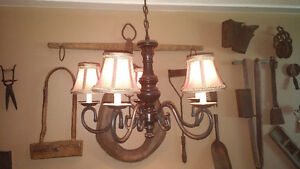 Oil Rubbed Bronze 5 Candle Chandelier