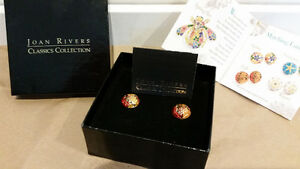 Joan Rivers Classics Collection Earrings -(New, never worn) North Shore Greater Vancouver Area image 3