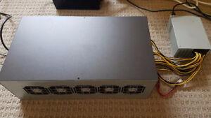 Brand New 8× RX470 Mining Server Rig.