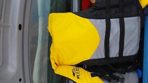 Men's Fluid PDF (Life Jacket) Florescent Yellow Men's Fluid PDF