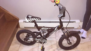 Boy's child bike - good for 3-5 year olds