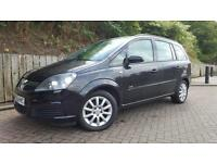 06/06 Vauxhall Zafira 1.6i 16v Club MOT SEP 2017 SERV HISTORY 7 SEATS ONLY £1995