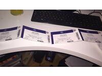 Justin Bieber x 4 seats for O2 arena Monday 28th November