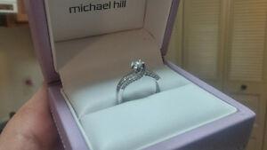10ct WG Diamond Bridal Ring (Engagement) Edmonton Edmonton Area image 1