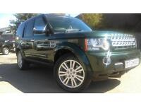 2011 LAND ROVER DISCOVERY 4 SDV6 HSE GALWAY GREEN CREAM LEATHER BIG SPEC EST