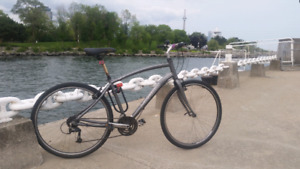 Norco Yorkville custom 7005 commuting bicycle