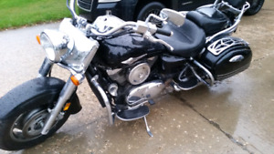 2008 Kawasaki Vulcan 1600 with 18000km