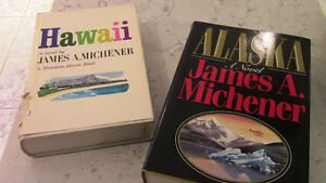 James A. Michener, Hawaii and Alaska