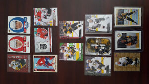Various Pittsburgh Penguins Hockey Cards