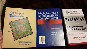 BCIT Health Care Leadership texts