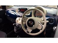 2017 Fiat 500 1.2 Pop Star 3dr Manual Petrol Hatchback