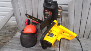 """14"""" McCulloch Electric Chainsaw"""