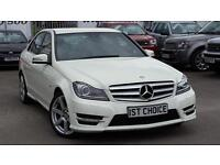 2012 MERCEDES C-CLASS C250 CDI BLUEEFFICIENCY SPORT JUST 37500 MILES FMBSH S