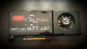 EVGA nVidia GeForce GTX 285 1GB PCIe 2.0
