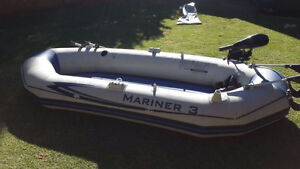 Mariner 3 inflated boat