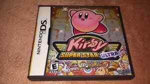 For sale, Kirby super star ultra for Nintendo ds.15 dollars firm