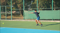 Anyone want a tennis player for coaching or hitting partner