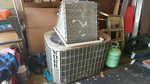 Used York central air conditioner with coil