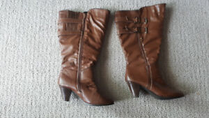 Wide calf boots size 10