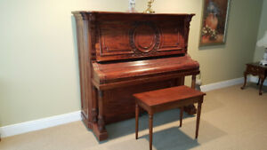 FOR SALE - BEAUTIFUL MID-SIZE ACOUSTIC PIANO
