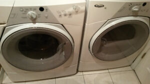 Whirlpool front load washer and dryer - quick sale!