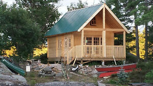 Custom made cottage cabin shed bunkie micro home tiny for Custom cottages for sale