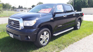 2008 TOYOTA TUNDRA LIMITED, 4 X 4, CERTIFIED & E-TESTED