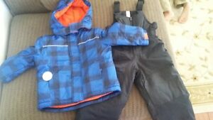 3T Boys Brand New Snow Suit & Boots