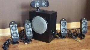 Système de haut-parleurs Logitech X-530 5.1 Surround Sound 70 W
