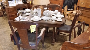 Matching set of 5 chairs $100 on sale