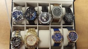 Rolex, Tag Heuer, Breitling, Hublot, Ulyse Nardin watch for sale West Island Greater Montréal image 1