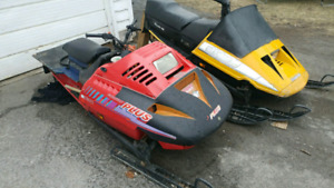 2 Sleds for sale 800.00 OBO for both