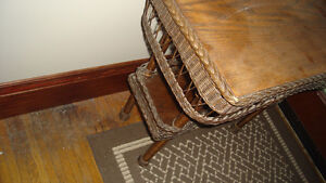 Wicker fern table Cambridge Kitchener Area image 2