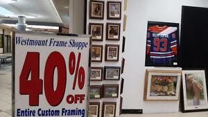 BLOWOUT HOLIDAY SALE - Custom Picture, Art, Photography Framing
