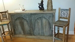 Wooden bar - authentic- from India West Island Greater Montréal image 1