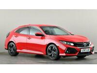 2017 Honda Civic 1.0 VTEC Turbo SR 5dr Hatchback petrol Manual