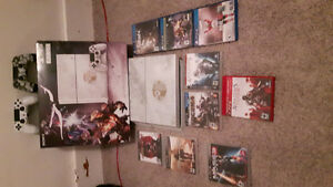 Playstation 4 destiny edition console with 3 games Moose Jaw Regina Area image 1