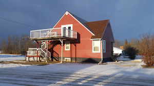 2 bedroom suite for rent, Peace River/St. Isidore.