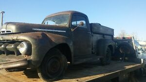 SOLID WESTERN 1951 FORD 1 TON PICK UP.