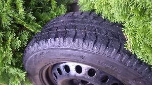 Toyo GSI5 Winters on rims - one of top rated - fits many makes Peterborough Peterborough Area image 1
