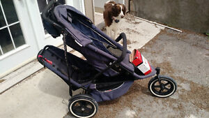 Phil and teds double stroller $220