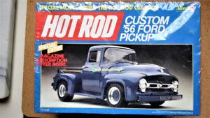 1:25 Modèle Réduit - 1956 Ford Pick-up Plastic Truck Model #7124