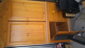 Ashley cabinet.....solid wood 150 obo