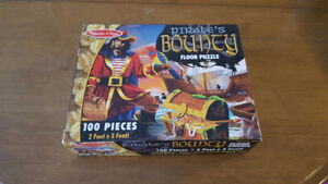 Melissa & Doug Pirate's Bounty Floor Puzzle - Like New