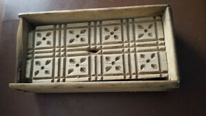 Wooden butter/cookie mold