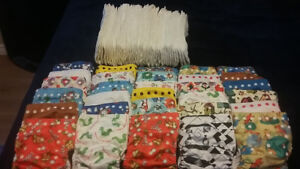 Cloth diapers and inserts for sale!