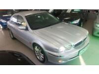 2003 JAGUAR X-TYPE V6 SE Silver Auto Petrol