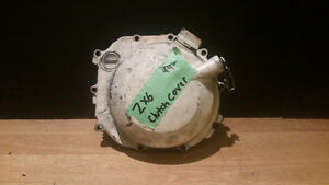 USED MOTORCYLE CLUTCH COVER FOR A 99 KAWASAKI ZX6r